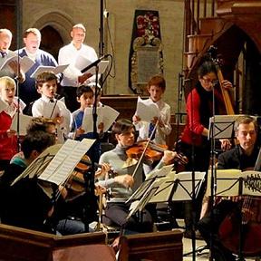 The Choir of the Temple Church