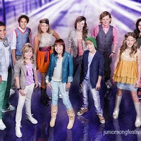 Finalisten Junior Songfestival 2011