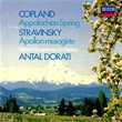 Copland: Appalachian Spring / Stravinsky: Apollon musagète   Detroit Symphony Orchestra