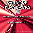 Les plus belles chansons de Johnny Hallyday (Karaoke playbacks) | Universal Sound Machine