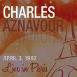 Live in Paris - Charles Aznavour   Charles Aznavour