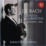 Sebastian Bohren - Bach: violin sonata & partitas, bwv 1004-1006