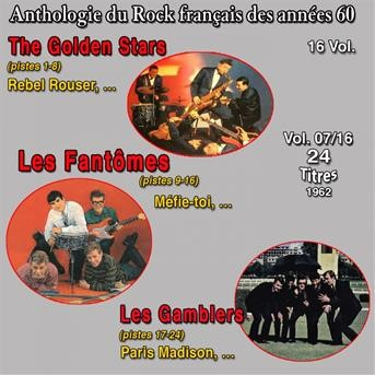 Anthologie des groupes de rock français des années 1960 - 16 Vol. - Vol. 7 / 16 ((24 Succès 1962)) |