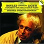 Album Ligeti: cello concerto; violin concerto; piano concerto de Ensemble Intercontemporain / Jean-Guihen Queyras / Pierre Boulez / Pierre-Laurent Aimard / Saschko Gawriloff...