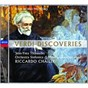 Album Verdi: discoveries de Riccardo Chailly / Orchestra Sinfonica DI Milano Giuseppe Verdi