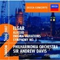 Album Elgar: symphony no.1/enigma variations de Sir Andrew Davis / The Philharmonia Orchestra