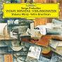 Album Prokofiev: sonata for violin and piano no. 1 in f minor - sonata for violin and piano no. 2 in d de Yefim Bronfman / Shlomo Mintz