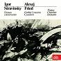 Album Stravinsky: danses concertantes - fried: gothic concerto, cassation de Orchestre de Chambre de Prague