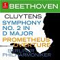 Album Beethoven: symphony no. 2, op. 36 & prometheus overture de André Cluytens / Ludwig van Beethoven