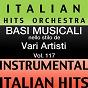 Album Basi musicale nello stilo dei vari artisti (instrumental karaoke tracks) vol. 117 de Italian Hitmakers