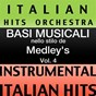 Album Basi musicale nello stilo dei medleys (instrumental karaoke tracks) vol. 4 de Italian Hitmakers