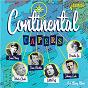 Compilation Continental capers avec Ivo Robic / Édith Piaf / Dean Martin / Pétula Clark / Caterina Valente...