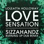 Album Love Sensation (Sizzahandz Burning Up Dub Remix) de Loleatta Holloway