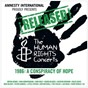 Compilation ¡released! the human rights concerts 1986: a conspiracy of hope (live) avec U2 / Bob Geldof / Steven van Zandt / Peter, Paul & Mary / Third World...