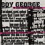 Album U can never B 2 straight de Boy George