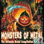 Compilation Monsters of metal vol. 2 avec Die Apokalyptischen Reiter / Dimmu Borgir / Mnemic / Deathstars / Kataklysm...