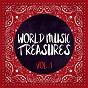Compilation World Music Treasures, Vol. 1 avec Waxies Dargle / Aquarela do Brasil / Mauro Galluccio, Giovanni Russo, Stefano Torossi / Daniele Benati, Fabio DI Bari, Giulio Vetrone / Sergio Lavia...