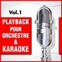 Album Playback pour orchestre & karaoké, vol. 1 de DJ Playback Karaoké