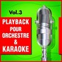 Album Playback pour orchestre & karaoké, vol. 3 de DJ Playback Karaoké