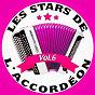 Compilation Les stars de l'accordéon, vol. 6 avec Pascale Andrews / Guy Denys / Maurice Larcange / Marcel Masson / Les Campayoux...
