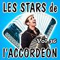 Compilation Les stars de l'accordéon, vol. 36 avec André Trichot / René Grolier / Jean Dinardo / Guy Denys / Cyrille Renaut...