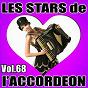 Compilation Les stars de l'accordéon, vol. 68 avec Corinne Rousselet / Damien Poyard / Karine Fontaine / Claude Geney / René Grolier...