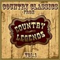 Compilation Country classics from country legends, vol. 1 avec Lynn Anderson / Tommy Overstreet / Nat Stuckey / Sandy Posey / Dave Dudley...