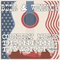 Compilation Beer & whiskey: country music drinking favorites avec Homegrown Peaches / Ken Westley / R.D. Shannon / Highway Bros / Zac Harris...