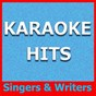 Album Karaoke hits: singers & writers de Original Backing Tracks