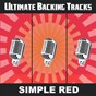 Album Ultimate backing tracks: simply red de Soundmachine