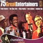 Compilation 75 great entertainers avec Don Cornell / Frank Sinatra / Nat King Cole / Dean Martin / Fred Astaire...