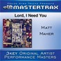 Album Lord, I need you (performance tracks) de Matt Maher