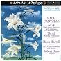 Album Bach: cantata BWV 56 & BWV 82 de Jean-Sébastien Bach / Robert Shaw