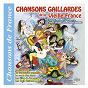 """Compilation Chansons gaillardes de la vieille france (collection """"chansons de france"""") avec La Houppa / Marcel Nobla / Les Chœurs Esculade / Colette Renard / Les Frères Jacques..."""