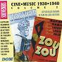 Compilation Ciné music, vol. 2 (1930-1940) avec Lilianne Harvey, Henri Garat / Jean Cyrano / Florelle / Henri Garat / Maurice Chevalier...