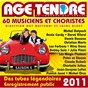 Compilation Age tendre  la tournée des idoles, vol. 6 avec The Magic Platters / Demis Roussos / Jean-Jacques Lafon / Peter & Sloane / Michel Orso...