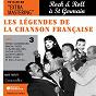 Compilation Les légendes de la chanson française - rock 'n' roll à saint germain des prés avec Le Trio Raisner / Moustache / Serge Gainsbourg / Bob Azzam / Colette Renard...