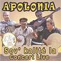 Album Sov' kalite la (concert live) de Apolonia