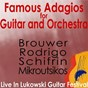 Album Famous adagios for guitar and orchestra - live in lukowski guitar festival de Angel Romero / Guy Lukowski / Costas Costiolis