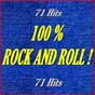 """Compilation 100% rock and roll ! (71 hits) avec Dick Rivers, les Chats Sauvages / Bill Haley / The Comets / Elvis Presley """"The King"""" / Bo Diddley..."""