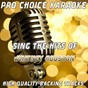 Album Sing the hits of whitney houston (karaoke version) (originally performed by whitney houston) de Pro Choice Karaoke