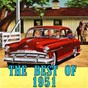 Compilation The best of 1951 avec Weavers / Tony Martin / Les Paul & Mary Ford / Patti Page / Guy Mitchell, Mitch Miller...