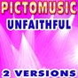 Album Unfaithful (karaoke version) (originally performed by rihanna) de Pictomusic