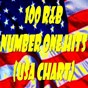 """Compilation 100 R&B number one hits : u.S.a. chart avec Rose Royce / The Platters / Little Richard / The Coasters """"The Robins"""" / Danny & the Juniors..."""
