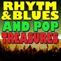 Compilation Rhytm and blues and pop treasures (secret love) avec Big John & the Buzzards / The Feathers / The Moonglows / The Harptones / The Marigolds...