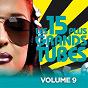 Compilation Les 15 plus grands hits, vol. 9 (le meilleur de vos tubes des années 70 - 80 - 90) avec Funky Stuff / Tina Charles / Michael Zager Band / Gloria Gaynor / Wild Cherry...