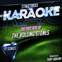 Album Stagetraxx karaoke : the very best of the rolling stones (karaoke version) de Toby Adkins