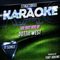 Album Stagetraxx karaoke : the very best of dottie west (karaoke version) de Toby Adkins