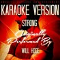 Album Strong (karaoke version) (originally performed by will hoge) de Ameritz Entertainment