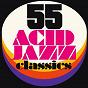 Compilation 55 acid jazz classics avec Aaron Tesser / Jestofunk / Sarah-Jane Morris / Bossa Nostra / Man Sueto...